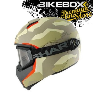 Kask Shark Vancore Wipeout Green