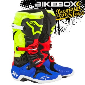 Buty Offroad Alpinestars TECH 10 White/Red/Yellow