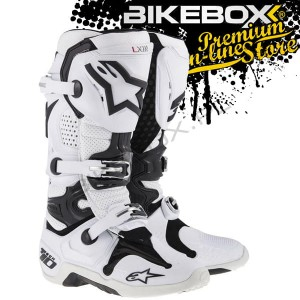 Buty Offroad Alpinestars TECH 10 White/Black