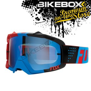 Gogle Fox AIR DEFENCE LIBRA BLUE/RED
