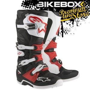 Buty Off-road Alpinestars TECH 7 Black/White/Red