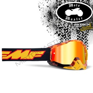 Gogle FMF 100% Powerbomb Spark Red