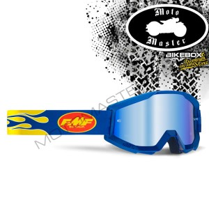 Gogle FMF 100% PowerCore Flame Navy