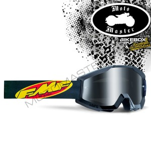 Gogle FMF 100% PowerCore Core Black
