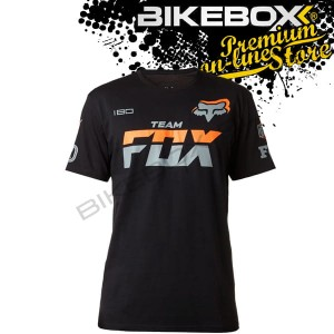 Koszulka Fox Team Fox Black Tees
