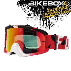 Gogle Fox AIR SPACE GRAV RED
