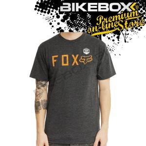 Koszulka Fox Shockbolt Heather Black Tees