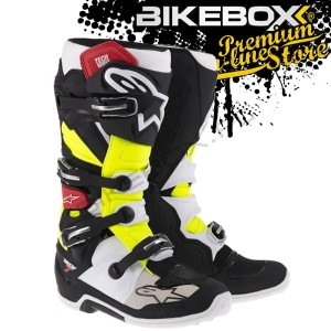 Buty Off-road Alpinestars TECH 7 Black/White/Red/Yellow