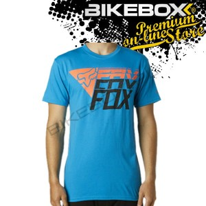 Koszulka Fox Experience Electric Blue Tees