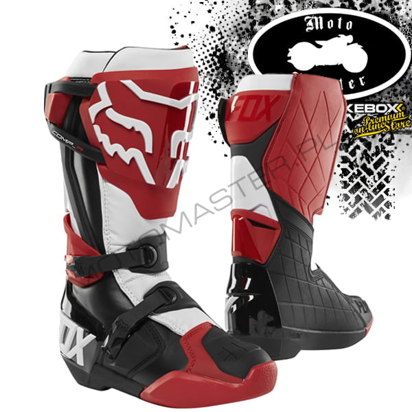 Buty Fox Comp R Boot Red/Black/White